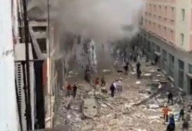 SNAŽNA EKSPLOZIJA U MADRIDU Jedna zgrada uništena, nekoliko osoba stradalo i povrijeđeno (FOTO, VIDEO)