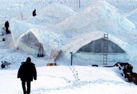 ISTORIJSKI MINIMUM Izmjereno rekordnih minus 21,5 stepeni Celzijusovih kod jezera Balea