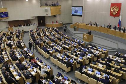 Duma odobrila produžetak sporazuma: Ograničavanje broja strateškog nuklearanog naoružanja