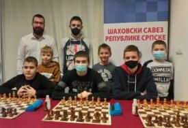 Mladi šahisti Srpske PRVI na Međunarodnom meču