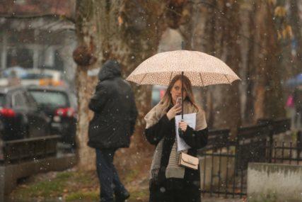 Neka kišobran bude uz vas: Danas u BiH oblačno sa kišom, uz temperaturu do 15 stepeni