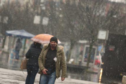 ZIMA POLAKO POKAZUJE ZUBE U BiH sutra susnježica i snijeg u većini krajeva