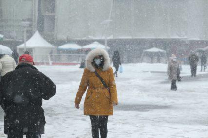 ZIMA POKAZUJE ZUBE, TOPLO SE OBUCITE Sutra u BiH oblačno vrijeme, temperatura do dva stepena