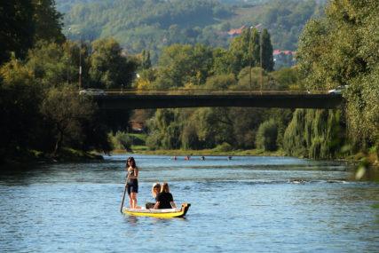"""Start kod Zelenog mosta: Nedjelja u znaku  """"Četiri kros dajak"""" takmičenja"""