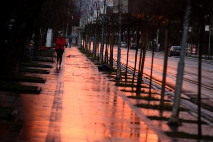 STIŽE PROMJENA VREMENA Danas promjenjivo oblačno, uveče kiša i slab snijeg