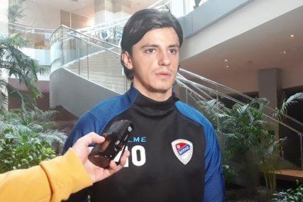 """ŽESTOKO OD STARTA Ziljkić: """"Srećan sam u Borcu, želim da ostanem"""""""