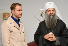 Stanivuković u Jasenovcu sa patrijarhom Porfirijem: Zahvalan sam Bogu na ovom susretu