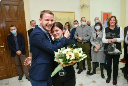 """""""Spoznajem potrebe naših radnika"""" Stanivuković se družio sa gradskim inspektorima (FOTO)"""