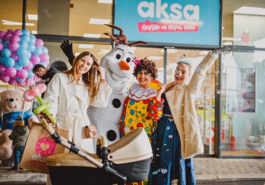 DIO VAŠIH NAJLJEPŠIH TRENUTAKA Otvorena četvrta Aksa prodavnica za djecu u BiH (FOTO)