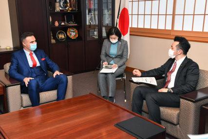 NAJVEĆI POJEDINAČNI DONATOR Berjan se zahvalio vlastima Japana na pomoći koju pruža BiH (FOTO)