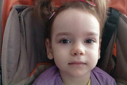 Komplikacije na porođaju ostavile TEŠKE POSLJEDICE: Da bi prohodala, maloj Anđeli treba tretman matičnim ćelijama u Ukrajini