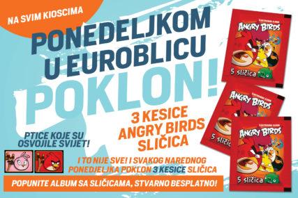 POKLON UZ EUROBLIC Za 8. mart besplatno 15 Angry Birds sličica
