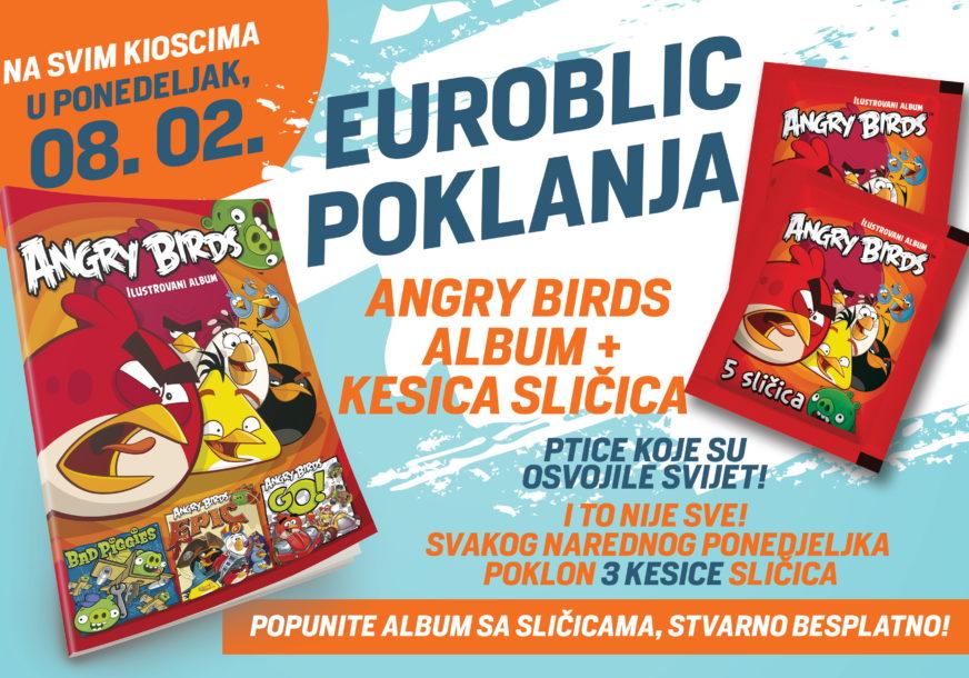 """ALBUM I PAKET SLIČICA U ponedjeljak, 8. februara, dva poklona uz """"EuroBlic"""""""