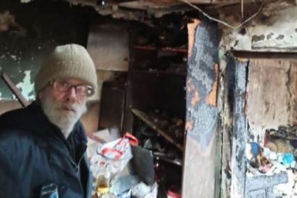 Dragoljubu je požar progutao i ono malo što je imao: Humane komšije su se ujedinile i sad ima krov nad glavom (VIDEO)
