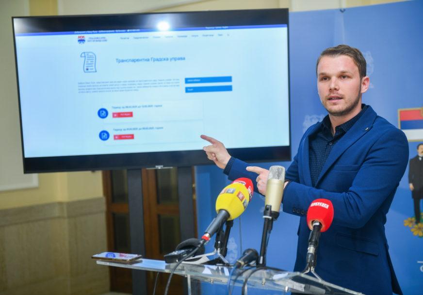 TROŠENJE BUDŽETSKOG NOVCA Na internet stranici Grada objavljeni računi koje je platila Banjaluka