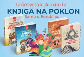 """""""EUROBLIC"""" PONOVO DARUJE Obogatite svoju biblioteku uz poklon knjigu"""