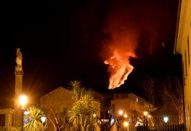 """""""Ovo nismo vidjeli godinama"""" Lava se izlijeva iz Etne (VIDEO)"""