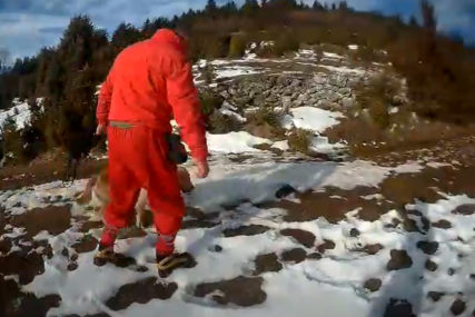 DRAMA NA VISOČICI Planinar pao niz greben prema kanjonu Rakitnice, spasioci na terenu