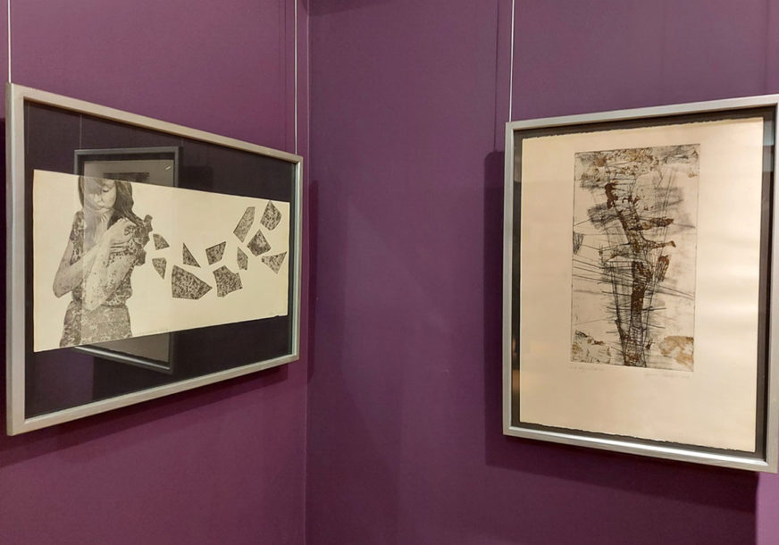 """Otvorena izložba grafika iz fundusa prijedorske galerije """"Sreten Stojanović"""""""