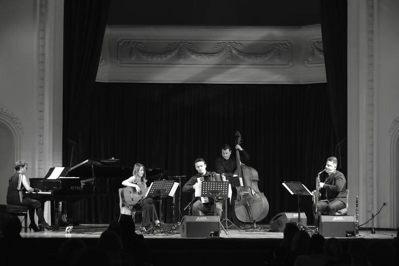"""Uz poštovanje svih mjera protiv korone: Koncert ansambla """"Libertango nuovo"""" održan u Banskom dvoru"""