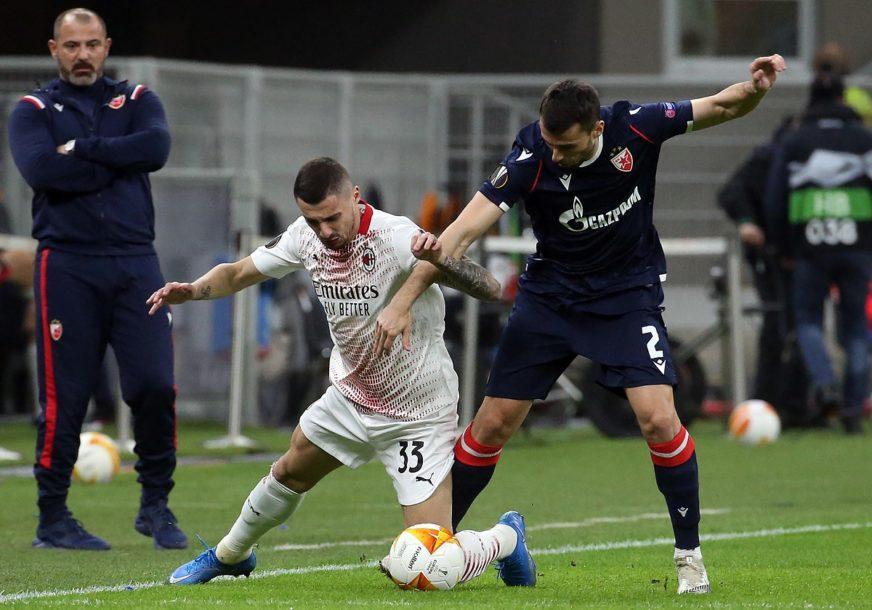 GOBELJIĆ TRAGIČAR Šteta: Hrabra Zvezda remizirala na San Siru, nedovoljno za osminu finala Lige Evrope