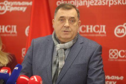 """""""TRI DRŽAVE ZA TRI NARODA"""" Dodik poručio da nikada neće odustati od razlaza u BiH, ali samo pod uslovom da ne dođe do rata"""