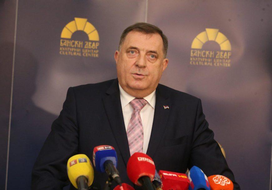 """""""Srpska protiv članstva u NATO"""" Dodik poručio da je Turkovićeva neodgovorna prema organima BiH i njihovim odlukama"""