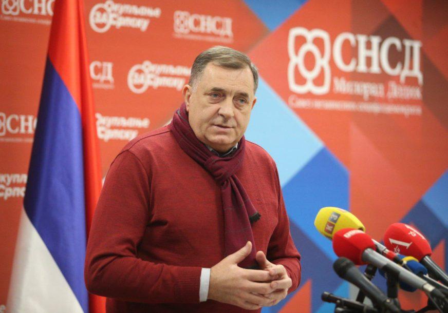 """""""TURKOVIĆEVA OBMANULA MASA"""" Dodik poručio da dva konstitutivna naroda ne žele OHR"""