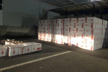 NAJVEĆA ZAPLIJENA CIGARETA Spriječeno krijumčarenje kutija vrijednosti 1,6 miliona KM