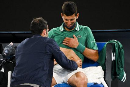 Novak preskočio trening: Neizvjestan nastup protiv Raonića