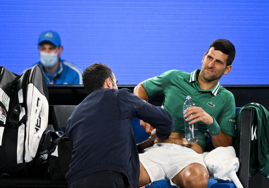 POJAVILA SE STREPNJA Novak: Nisam siguran da ću moći da nastavim turnir