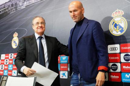 ZIDAN PONOVO VODI EKIPU Trener Reala izašao iz izolacije, predsjednik Perez ima koronu