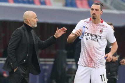 """ZLATANIZOVAO SAM PIOLIJA"" Ibrahimović progovorio o treneru Milana"