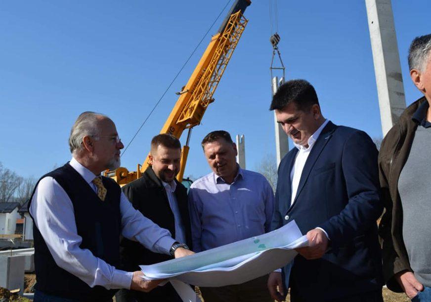 POČELA IZGRADNJA HALE Savić zahvalio Srbiji na donaciji
