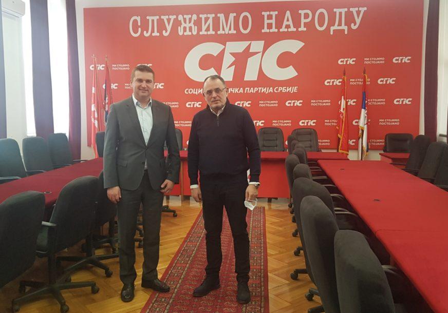 PONAVLJANJE LOKALNIH IZBORA Todorović dobio podršku SPS za kandidaturu za gradonačelnika Doboja