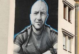 Sportista koji nas je napustio prerano: Na Sokocu oslikan mural sa likom Pavla Ninkovića
