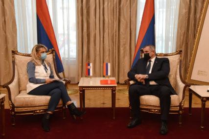 Višković nakon sastanka sa konzulom: Odnosi Republike Srpske i Srbije na visokom nivou