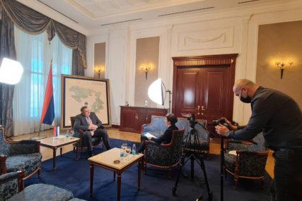 Govorio o Samitu i pandemiji korone: Dodik dao intervju za KINESKU DRŽAVNU TELEVIZIJU