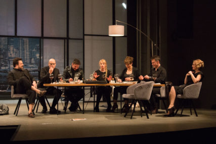 "Predstava ""Stranci u noći""  osvojila dvije nagrade na pozorišnom festivalu ""Dani komedije 2021"""
