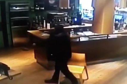 Ustao i počeo da rešeta: Isplivao JEZIV SNIMAK ubistva Sare na benzinskoj pumpi (VIDEO)