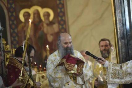 """""""OSLUŠNITE SRCE I DUŠU"""" Patrijarh Porfirije pozvao vjernike da se okrenu podvigu i pokajanju"""