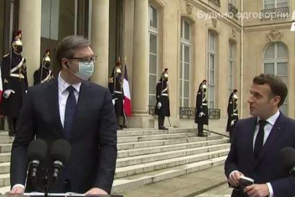 Vučić o saradnji sa francuskim predsjednikom: Makron UVIJEK SPREMAN  da čuje srpske stavove