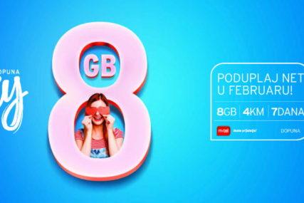 XY plan promo sa duplo više neta: Požurite po svoje duple gige do kraja februara
