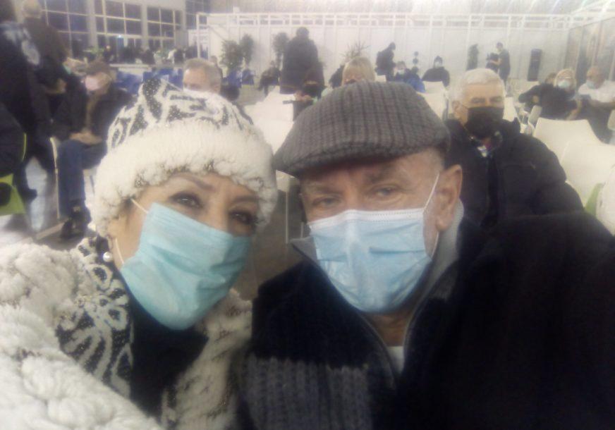 PO IMUNIZACIJU U SRBIJU Dragan Trivun među prvima iz Srpske primio vakcinu