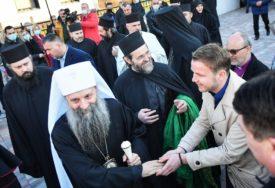 Susret sa patrijarhom Porfirijem: Stanivuković prisustvovao molitvi u Jasenovcu