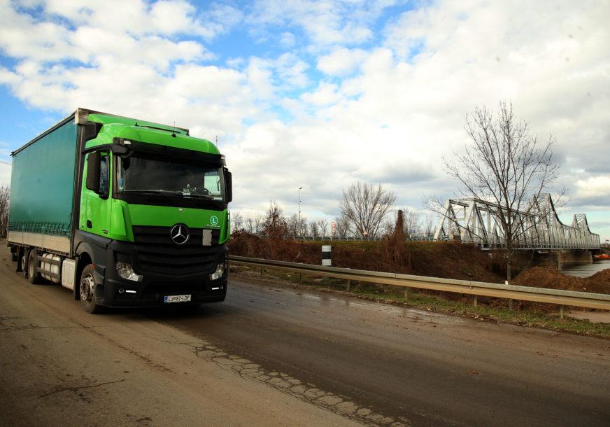 Ugrozio bezbjednost: Vozio kamion sa 2,71 promila alkohola u krvi