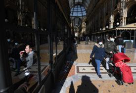 OŠTRIJE MJERE U NEKOLIKO REGIONA Italijanska Vlada pojačala restrikcije da bi suzbila širenje korona virusa