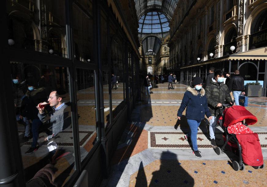 KORONA NE MIRUJE U Italiji raste procenat zaraženih britanskim sojem virusa