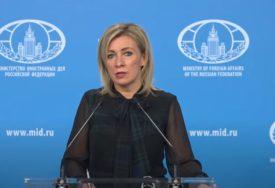 Zaharova: Nacionalna politika Kijeva prerasla u nacionalizam
