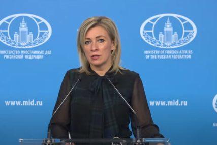 Zaharova: NATO da se pozabavi sopstvenim problemima
